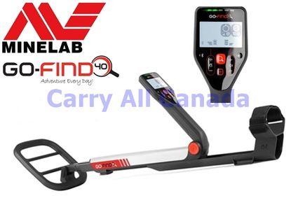 Minelab GO-FIND 40 - Free Shipping in Canada